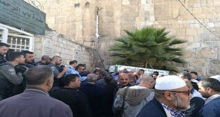 وقفات احتجاجية في مقبرة باب الرحمة