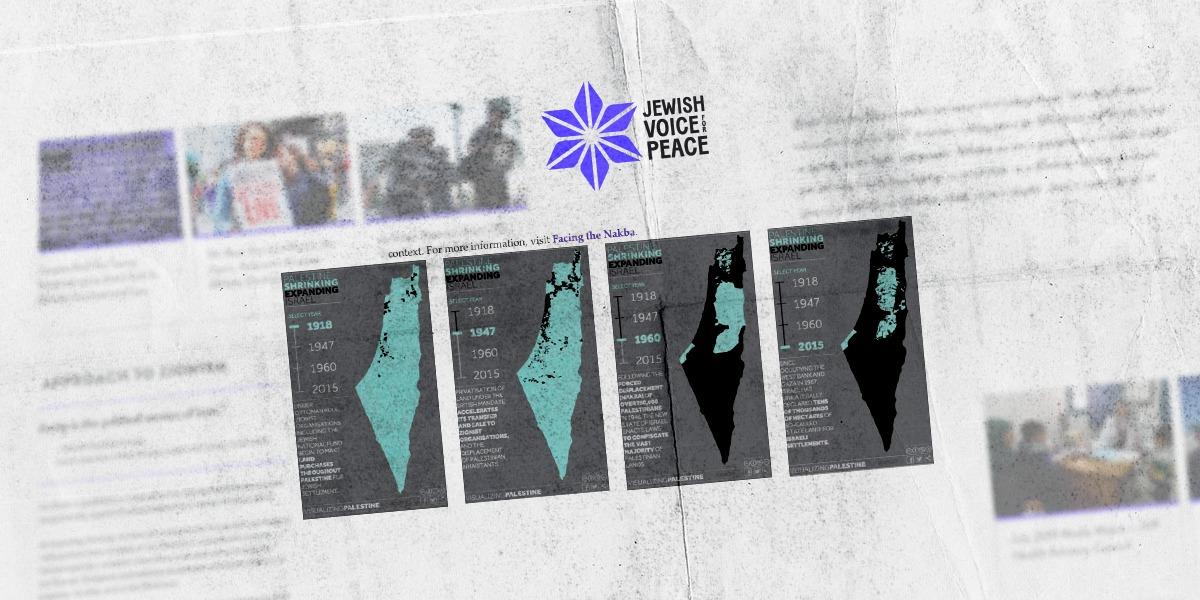 """""""صوت اليهود"""" يتّهم الصهيونيّة"""