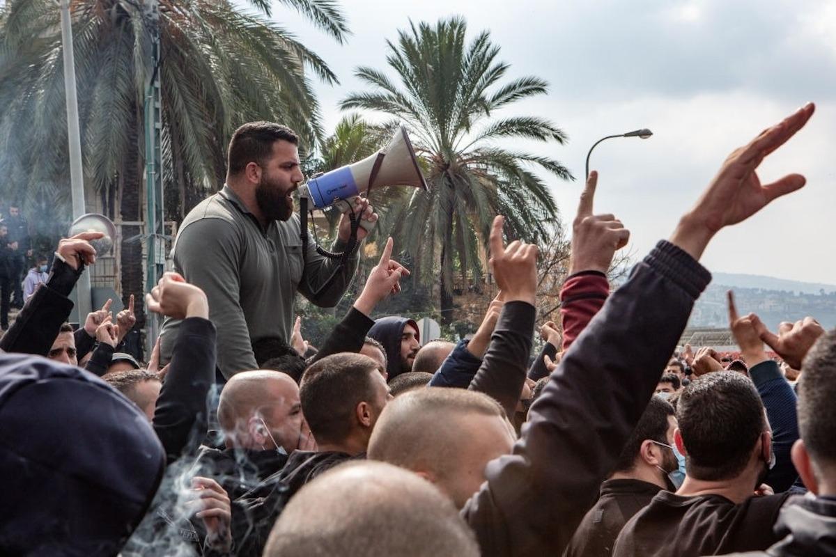 مظاهرات أم الفحم: الشرطة أصل الورطة