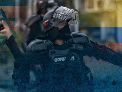 """يد """"إسرائيل"""" في قمع الاحتجاجات الكولومبية"""