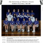 1995-96 Womens Volleyball