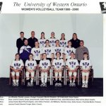 99-00 Womens Volleyball