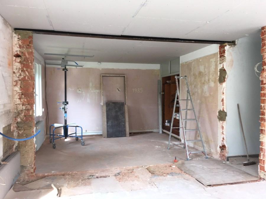 ouverture mur porteur et chev tre de sout nement de. Black Bedroom Furniture Sets. Home Design Ideas