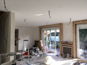 enduit ratissage peinture plafond