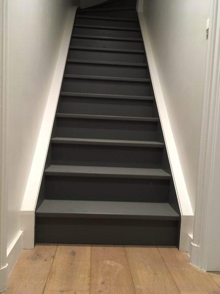 escalier LCA quart-tournant haut