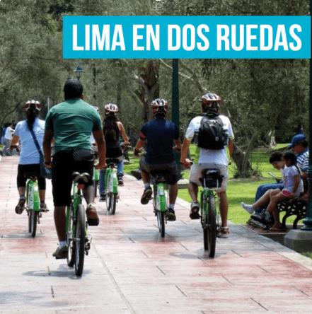 Lima descubierta en dos ruedas