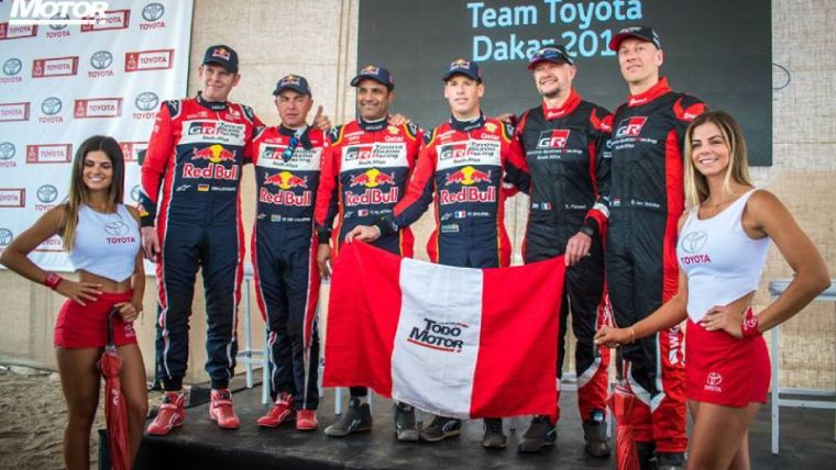 Caso Toyota: Rally Dakar 2019