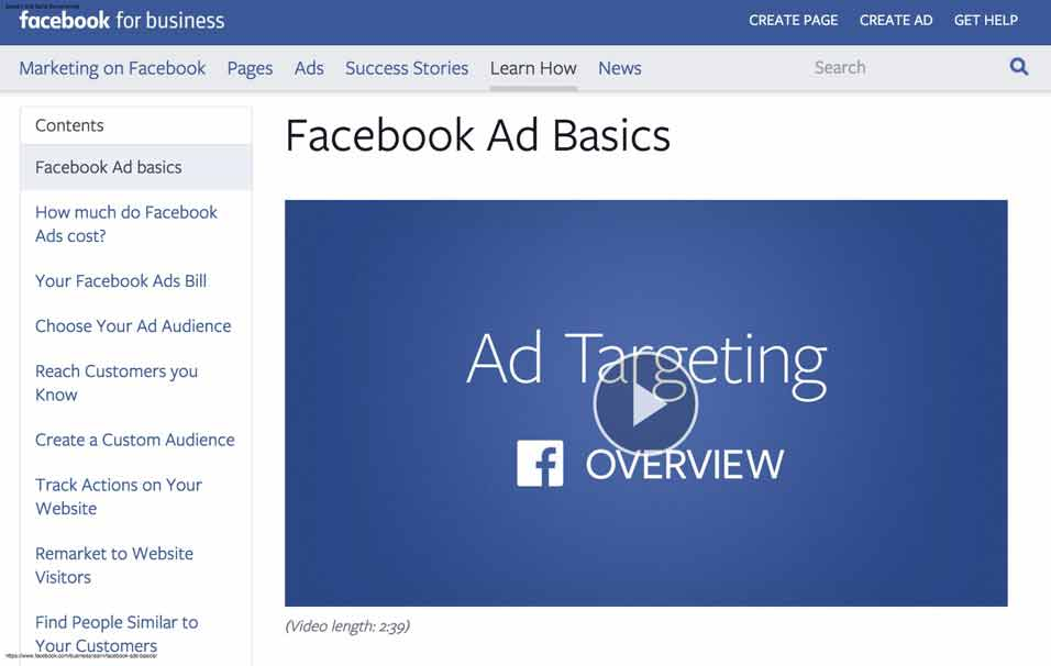 Facebook-Ad-basics