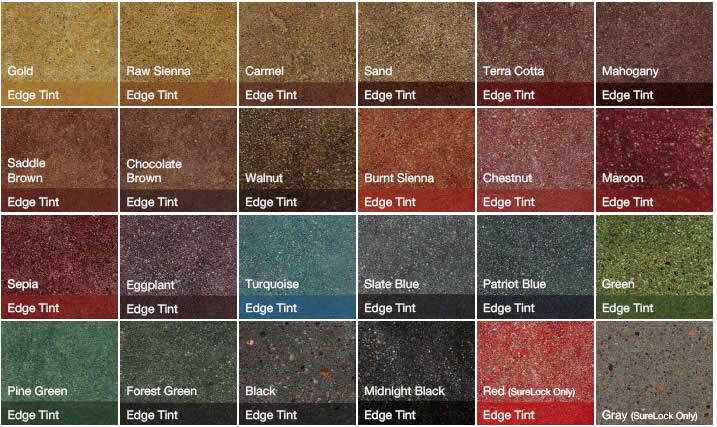 Metric Concrete Stained Or Colored Concrete
