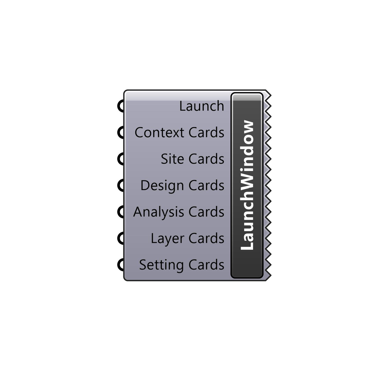 Launch Window component