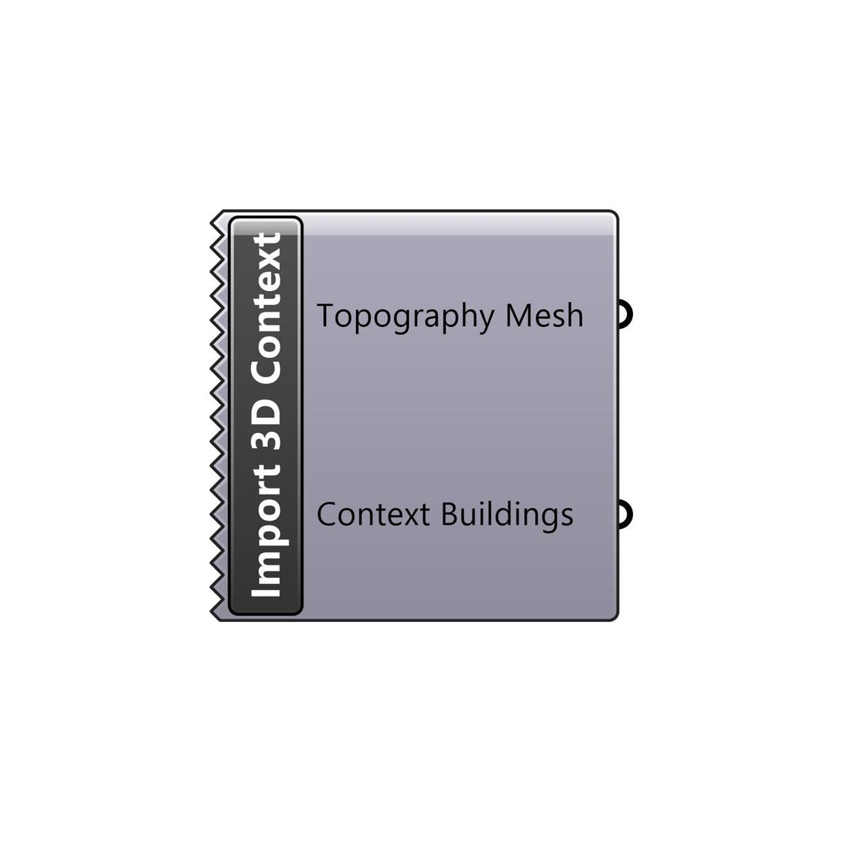 Import 3D Context component