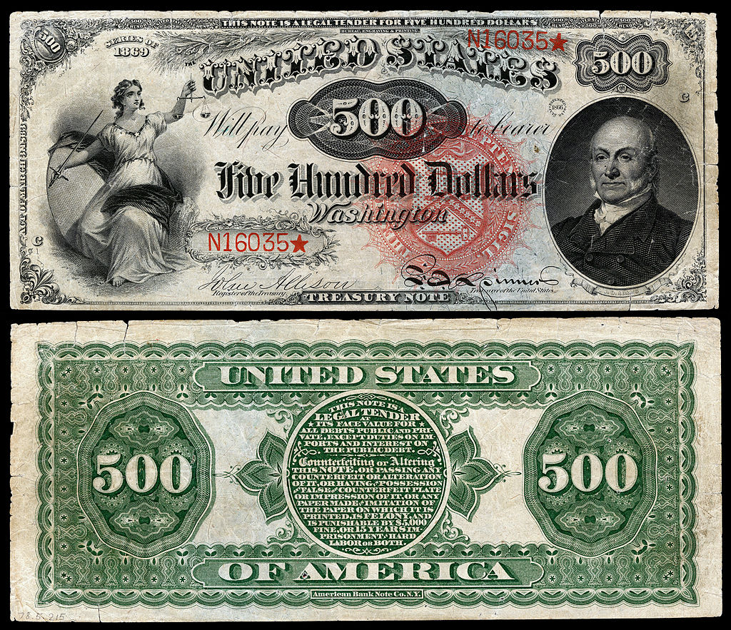 Women On Currency Notes In The United States