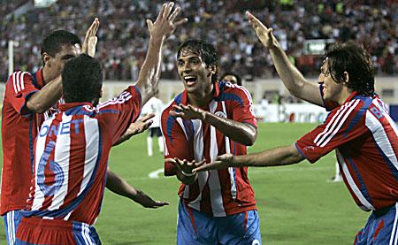 Paraguay celebrate
