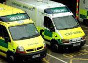 OAP left waiting by dining paramedics