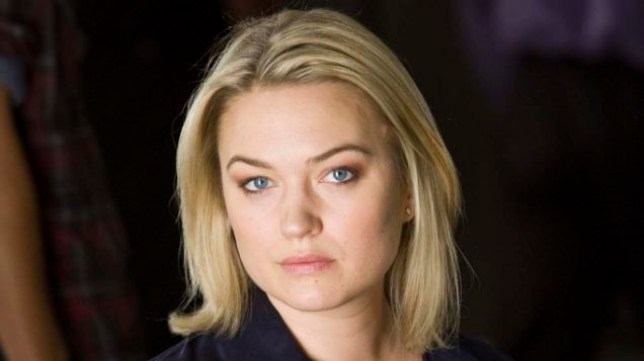 Sophia Myles, who plays Beth Bailey in Spooks, BBC1