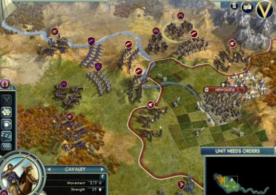 Sid Meier's Civilization V (PC) – Geordies under siege
