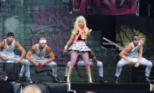 Nicki Minaj's behaviour at T in the Park has been criticised (PA)