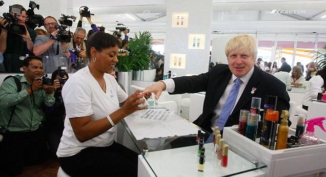 Boris Johnson manicure