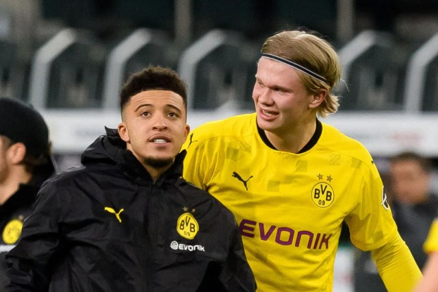 Borussia Dortmund chief gives cheeky update on Chelsea target Erling Haaland