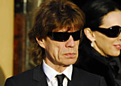 Jagger's women join him in father farewell