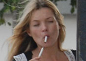 Kate the chain-smoking queen