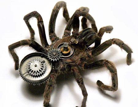 Clockwork spider