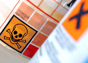 Toxic: Three people who transported the bags died