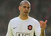 United take Rio and Vidic to Milan