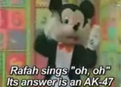 Hamas 'Mickey Mouse' is 'pure evil'