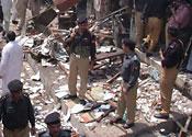 Hotel suicide bombing kills 24 in Pakistan