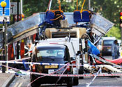 The officers were investigating the July 7 bombings