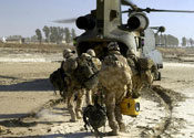 'Friendly fire' kills three British troops
