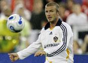 Beckham debut