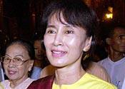 Burmese protests over leader's house arrest