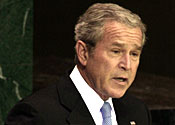 George Bush UN
