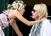 Sienna Miller and Rhys Ifan
