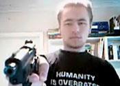 YouTube killer 'not odd', say friends