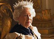 Queen's brogues in Vogue