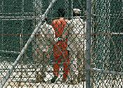 First prisoner arrives