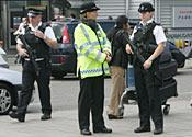 Heathrow airport police terror