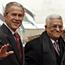 Bush arrives in West Bank for peace talks