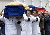 Edmund Hillary funeral