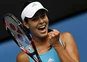 Ana Ivanovic talks to Metro