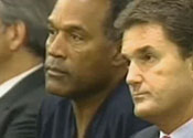 OJ Simpson in court