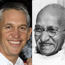 Lineker pitted against Gandhi