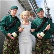 Helen names biggest UK cruise liner