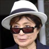 Yoko in Lennon video copyright bid