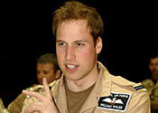 William 'to join Navy drug patrols'