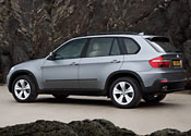The written off car was a BMW X5