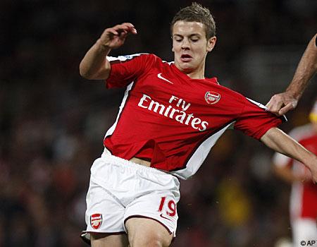 Emerging star: Arsenal prodigy Jack Wilshere